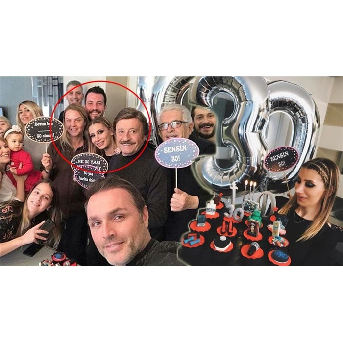 40 Yaş Temalı Pembe Konuşma Balonu Seti