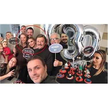 40 Yaş Temalı Altın Konuşma Balonu