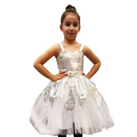 Beyaz Dansçı Kostüm
