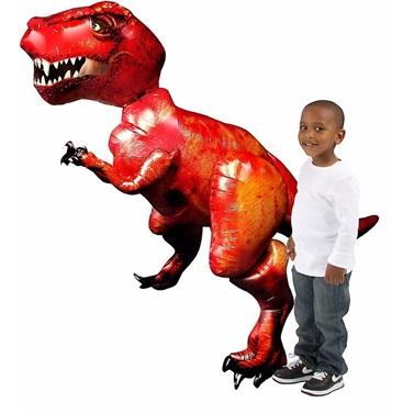 Dinozor-T-Rex Airwalker Folyo Balon