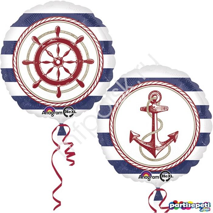 Denizci Folyo Balon