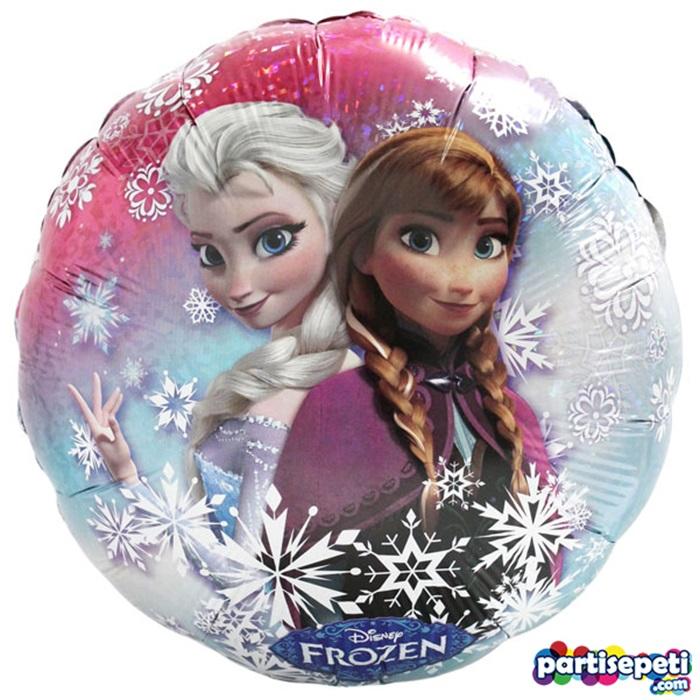 Karlar Ülkesi Prensesler Temalıi Folyo Balon