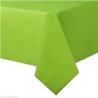 Lüks Fıstık Yeşili Renkli Plastik Masa Örtüsü