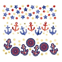 Denizci Temalı Masa Konfetisi