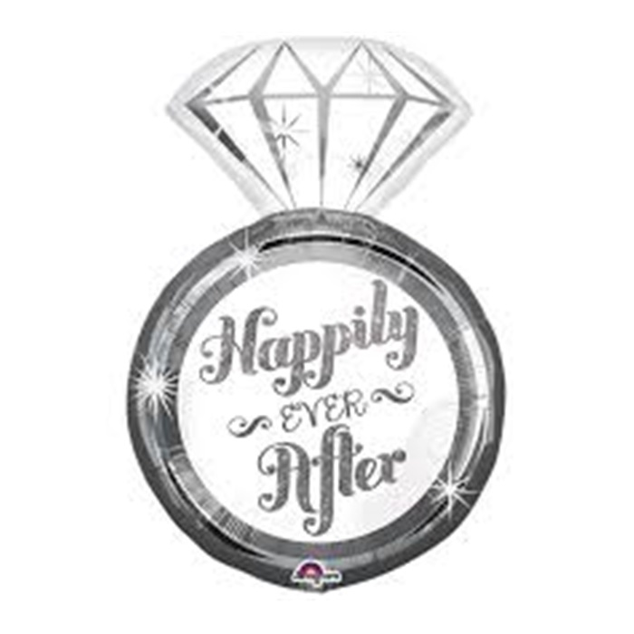 Happily Ever After Yazılı Folyo Balon