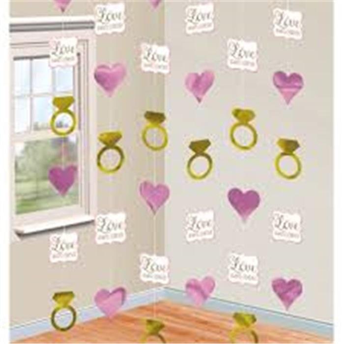 Aşk Temalı Kapı Süsü